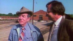 A scene from Bill Moyers's 1984 documentary 'Marshall, Texas; Marshall, Texas'