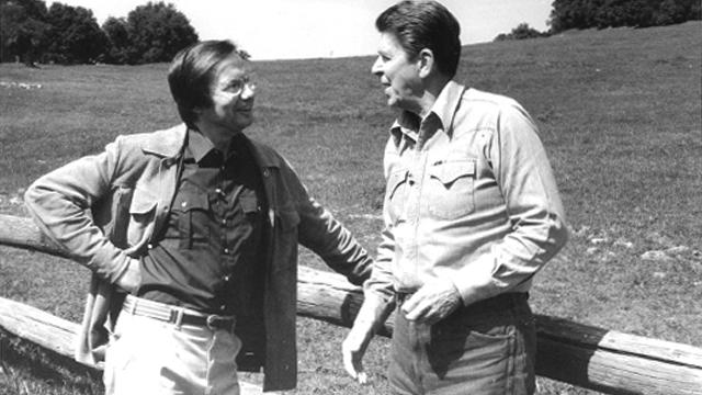 Reagan and Bill 1992