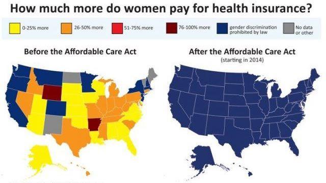 Fuse-Washington Gender Health Care Cost Disparities Map