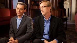 (l-r) Jacob Hacker and Paul Pierson