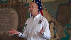 Gov. Rick Scott earlier this month in Florida. (AP Photo/J Pat Carter)
