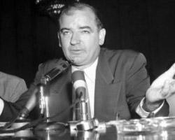 Senator Joseph McCarthy (AP Photo)