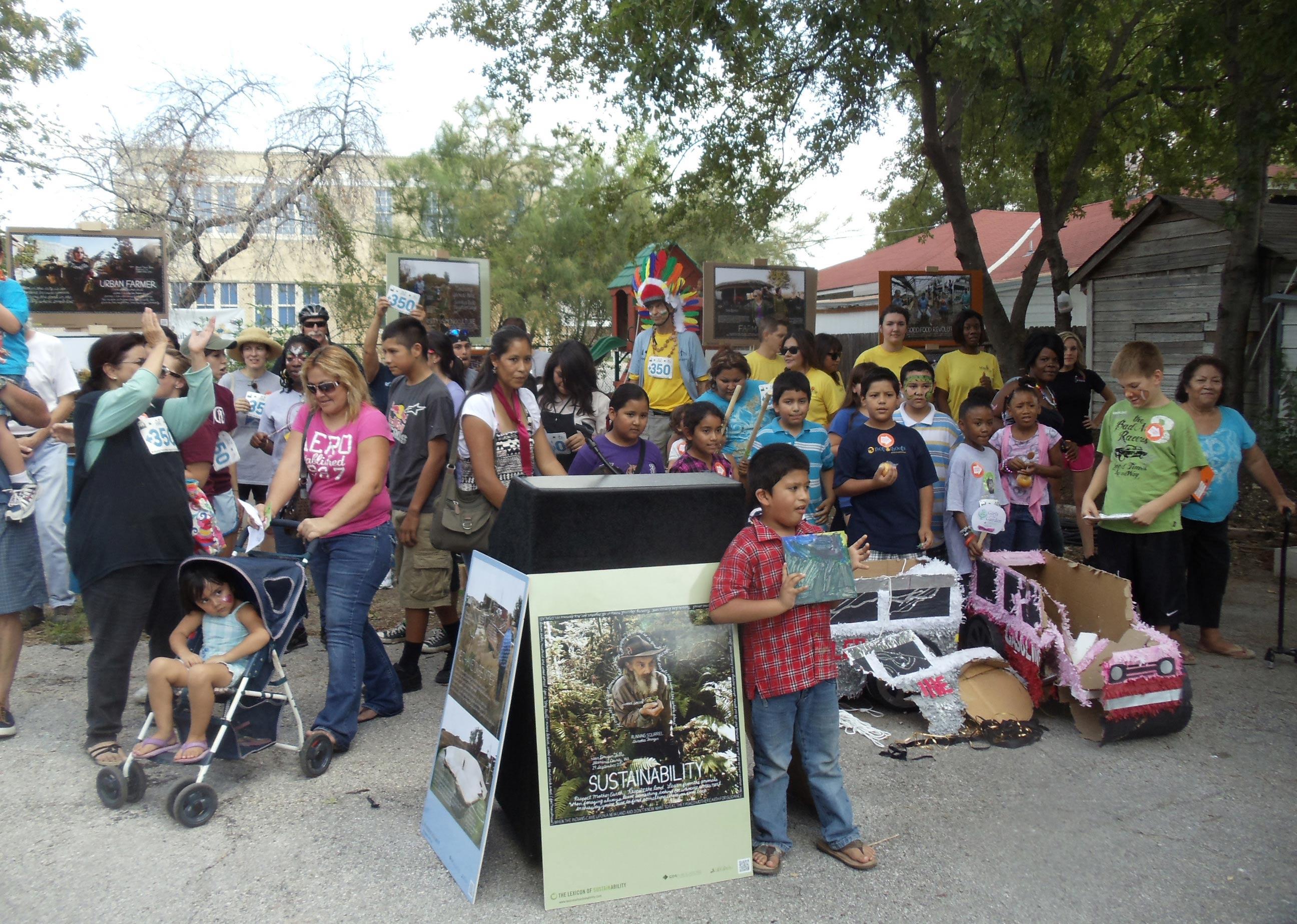 San Antonio, TX, pop-up gallery show
