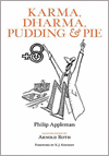 'Karma, Dharma, Pudding & Pie' by Phillip Appleman book jacket