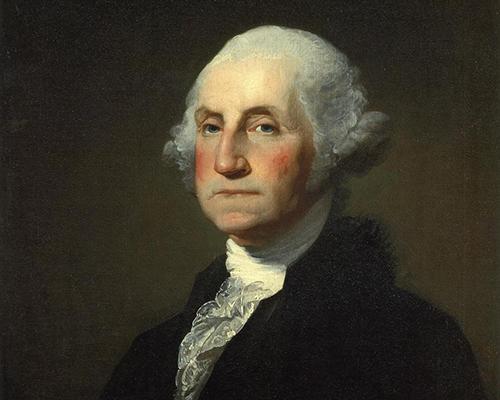 Portrait of George Washington (Painted by Gilbert Stuart)
