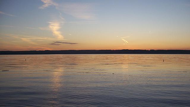 Seneca Lake seen from Sampson State Park in Romulus, N.Y. (Wikimedia Commons/Scieri12)