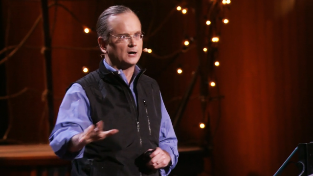 """Lawrence Lessig delivers a TED talk: """"We the People, and the Republic we must reclaim"""""""