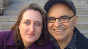 Two American Families producers Kathleen Hughes and Tom Casciato. Courtesy of Okapi Productions.