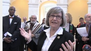 Sister Simone Campbell at Capitol Hill