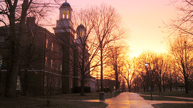Harrison Hall at Miami University. Former Miami University President James Garland wonders whether he did the right thing in working to make the university more attractive to higher income students. (Wikimedia Commons)
