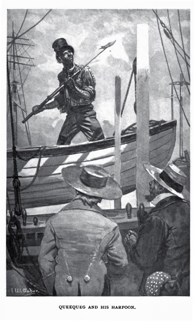 Illustration from 1902 Scribner edition of Mody Dick. (Image: I. W. Taber)