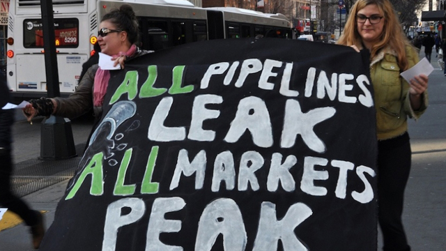 Similar to the Keystone XL pipeline, the proposed Bluegrass pipeline in Kentucky has met opposition from an unlikely coalition of environmentalists, religious groups and libertarians defending property rights. (Michael Fleshman/Flickr/Creative Commons)