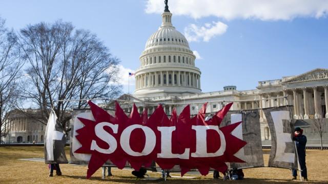 Business for Democracy (Photo: Brendan Hoffman/Public Citizen/Flickr)