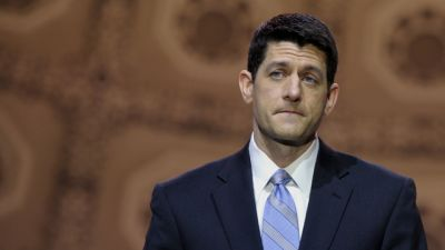 House Budget Committee Chairman Rep. Paul Ryan (R-WI) speaks at the Conservative Political Action Committee annual conference in National Harbor, Md., Thursday, March 6, 2014. (AP Photo/Susan Walsh)