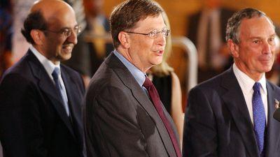 Bill Gates, Michael Bloomberg