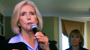 In this April 30, 2012 file photo, Lilly Ledbetter speaks in Concord, NH. (AP Photo/Jim Cole, File)