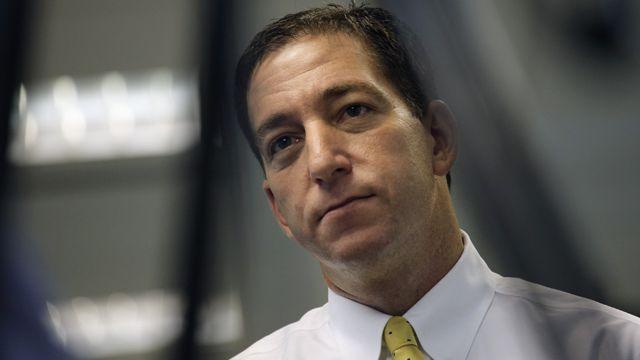 The Guardian newspaper reporter Glenn Greenwald in 2013