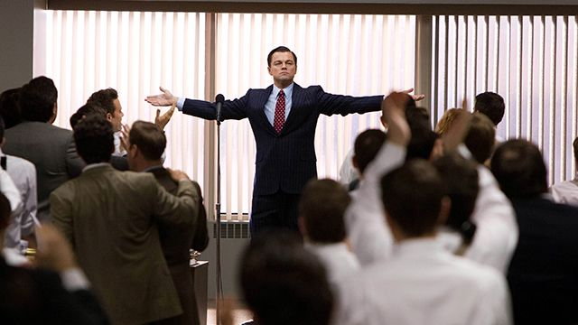 Leonardo DiCaprio plays the super-rich Jordan Belfort in The Wolf of Wall Street. (AP Photo/Paramount Pictures, Mary Cybulski, File)