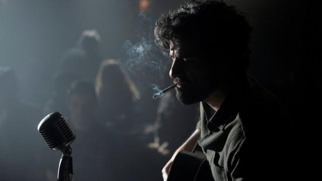 Oscar Isaac plays fictional folksinger Llewyn Davis in the Coen Brothers' Inside Llewyn Davis. (Image: CBS Films)