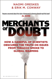 'Merchants of Doubt' book jacket by