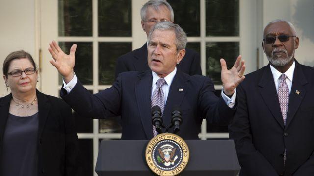 President George W. Bush makes remarks on Iraq (Jan 2008)