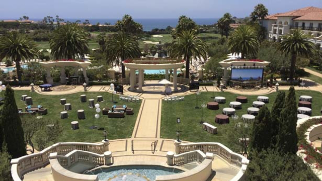 The St. Regis Monarch Bay Resort, rented by the Koch brothers for $870,000 for their secret billionaire confab.