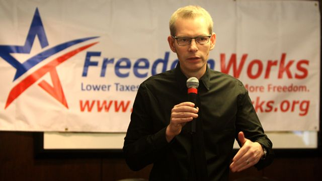 FreedomWorks president and CEO Matt Kibbe. (Photo: Gage Skidmore/Flickr)