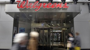 Walgreens pharmacy at Times Square, New York
