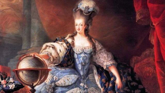 Marie Antoinette, Queen of France, in coronation robes, 1775 (Photo: Wiki Commons)