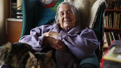 Activist Helen Lewis at home. (Photo: Paula Allen)