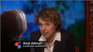 "Stanford finance professor Anat R. Admati talks to Bill Moyers about ""too-big-to-fail"" banks in June. (Image: Moyers & Company)"