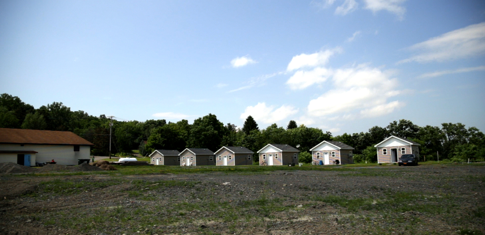 Second Wind Cottages, a community of formerly homeless men near Ithaca, New York. (Photo: John Light/Moyers & Company)