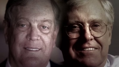 The Koch Brothers (Photo: Screenshot from The Koch Brothers Exposed film)