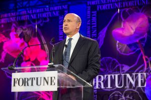 Lloyd Blankfein attended the 2012 Fortune Most Powerful Women  to honor global women leaders. (Photograph: Stuart Isett/Fortune Most Powerful Women Summit/flickr CC 2.0)