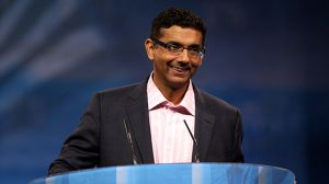 Dinesh D'Souza speaking at the 2013 Conservative Political Action Conference (CPAC) in National Harbor, Maryland. (Photo by Gage Skidmore/flickr CC 2.0)