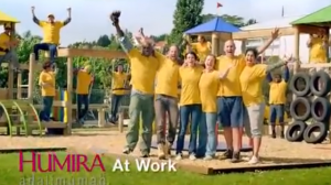 A TV ad for Humira. (Image: Youtube)