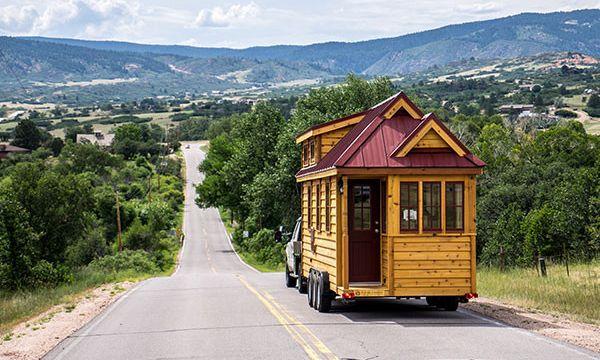 A micro-home manufactured by the Tumbleweed Tiny House company. (Photo: courtesy Tumbleweed Tiny House)