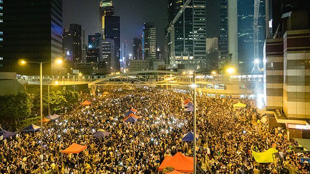 Hong Kong's Umbrella Revolution (Photo: Pasu Au Yeung/flickr CC 2.0)