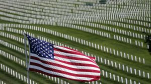 The U.S. celebrates Veterans Day on Tuesday in honor of those who have served in the nation's military. (AP Photo/Marcio Jose Sanchez)