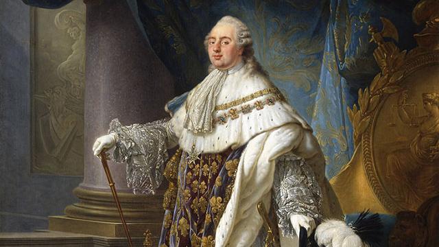 Portrait of Louis the XVI by Antoine-François Callet. (Portrait: commons.wikimedia.org)