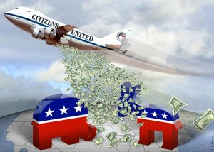One billionaire has spent more than $70 million on the 2014 elections. (Graphic: DonkeyHotey/flickr CC 2.0)