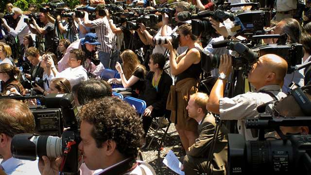 The number of journalists covering local politics is rapidly sinking — to the detriment of our democracy. (Photo by Ernst Moeksis / flickr CC 2.0)