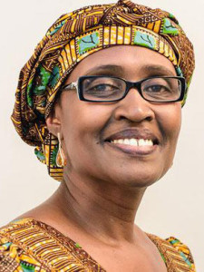We all need, says Oxfam's Winnie Byanyima, to stand in worldwide solidarity and demand an end to extreme inequality. (Photo: Too Much)