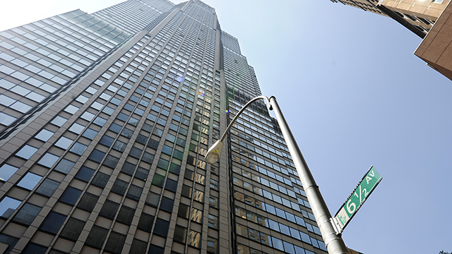 skyscraper, manhattan