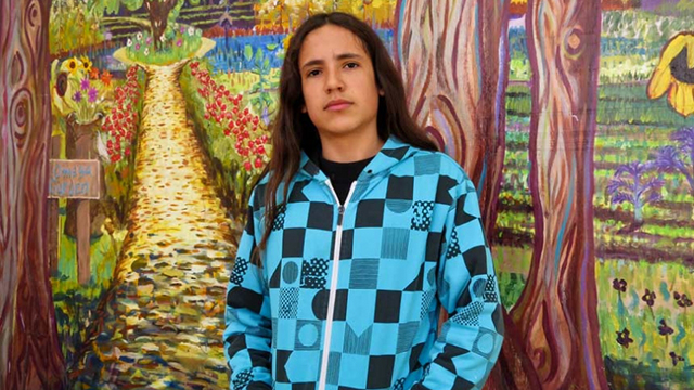Xiuhtezcatl Martinez, 14, is on a crusade to stop climate change. (Photo: Xiuhtezcatl Martinez)