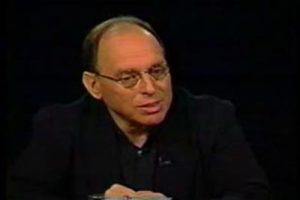 Former New Republic owner Martin Peretz.