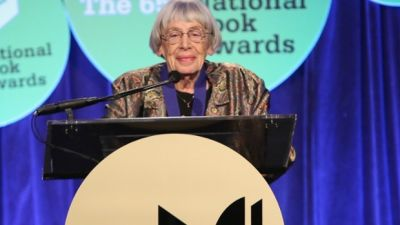Ursula Le Guin at the 2014 National Book Awards