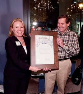 """Tommy Dickey, the current owner of Steel Street, often recognized by the city for his contributions to """"redeveloping"""" the already elite Upper Kirby area. (Upper Kirby District Street Talk/2011)."""