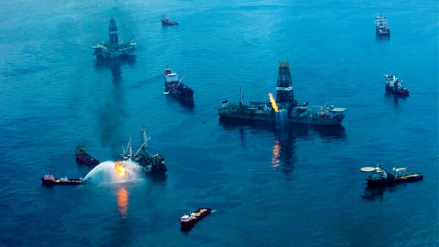 BP Oil Spill in 2010