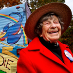 Fifteen Years Later, Granny D's Walk for Democracy Continues